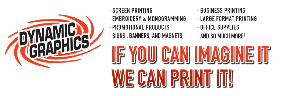 Charleston, WV Screen Printer | Screen Printing | Embroidery | Dynamic Graphics